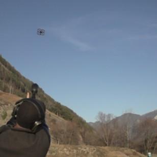 La police s'est équipée de pistolets anti-drones