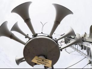 Test des sirènes : le premier mercredi de février